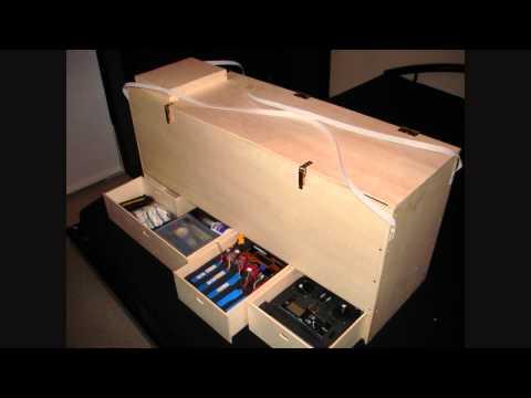 Extra 300 transport Box / Lager- und Transportkiste