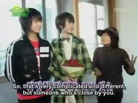 SS501 Thank You For Raising Me Up Ep 01 Part 1 eng sub