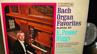 Bach Organ Favorites