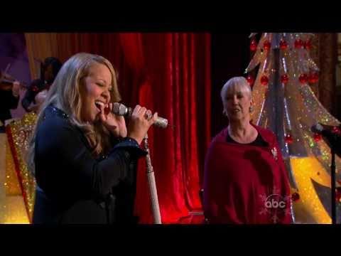 09 Oh Come All Ye Faithfull / Hallelujah chorus - Mariah Carey CHRISTMAS SPECIAL live