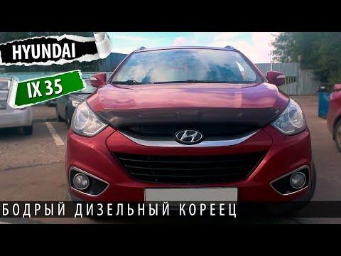 Hyundai IX 35 - интересный дизельный кореец. Тест драйв и обзор хендай Ix 35