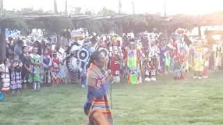 TAOS PUEBLO POW WOW 2019 DAY 1  - Friday Morning - Welcome - Bernard Lujan - Taos Pueblo War Chief
