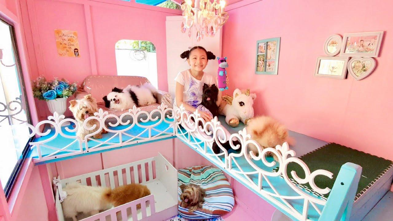 Bug's Dogs Morning Routine inside Dog Mansion