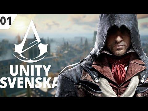 Assasin's Creed Unity (Svenska) EP01 - Jacques de Molay