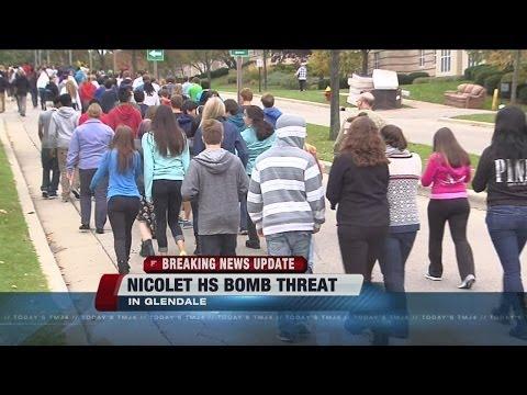 Suspected arrested in Nicolet High School bomb threat