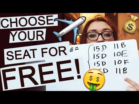 Travel Hack: Choose your airplane seat for FREE!