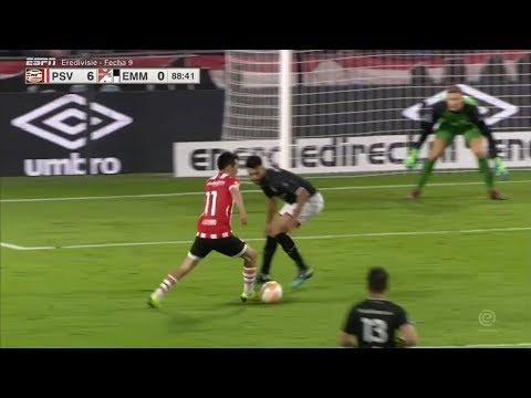 Asi fue el golazo de Chucky Lozano vs Emmen (HD) 20/10/18