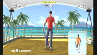 Wii Workouts - EA Sports Active More Workouts - Some New Exercises in the 6 Week Workout
