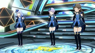 「ミリシタ」Melty Fantasia (Game ver.) 白石紬、真壁瑞希、北沢志保 PST ユニホーム uniform