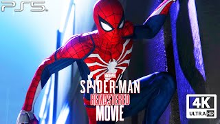 SPIDER-MAN REMASTERED PS5 All Cutscenes (Game Movie) 4K Ultra HD