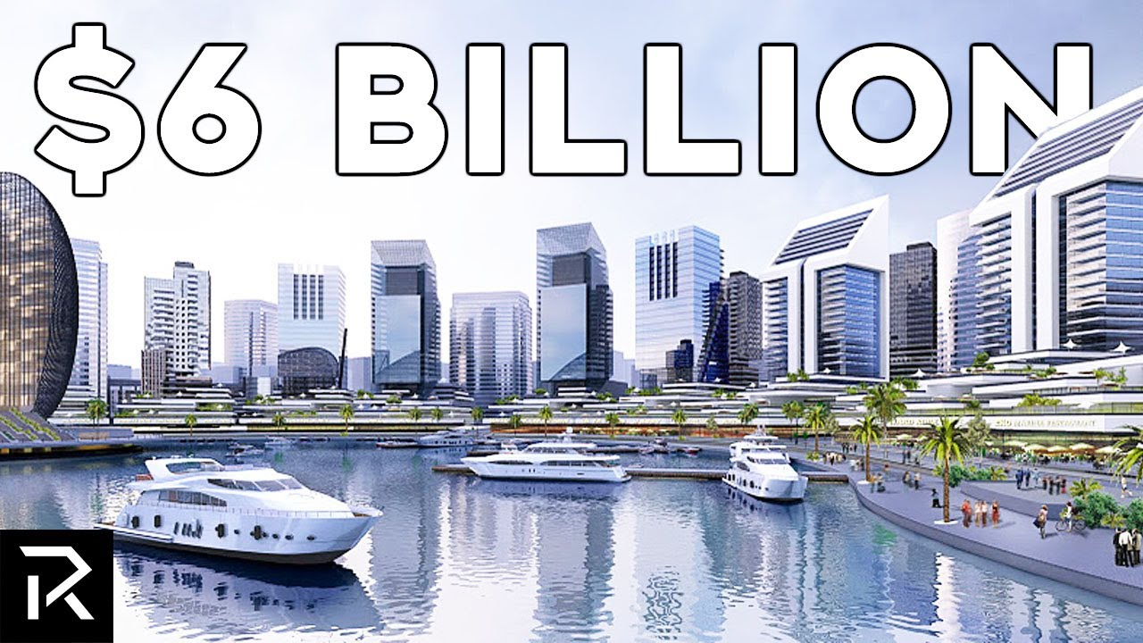 Africa's $6 Billion Dollar Futuristic City In The Sea