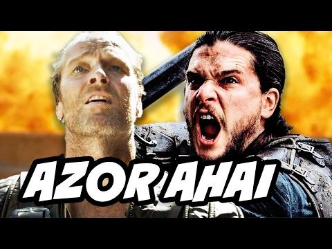 Game Of Thrones Season 7 Jon Snow Jorah Azor Ahai Theory