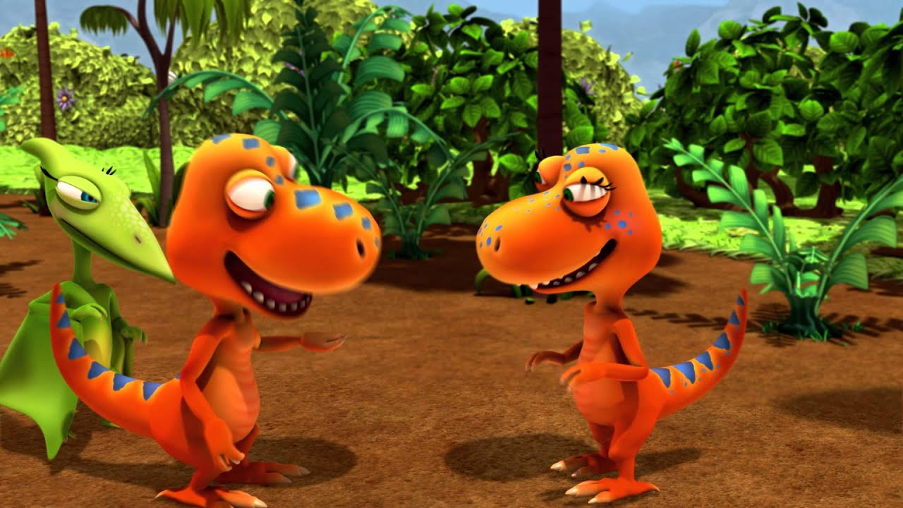 It is a photo of Vibrant Dinosaur Train Pictures
