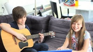 Repeat youtube video Reach Out - Connie Talbot & Jordan Jansen (Studio Day)