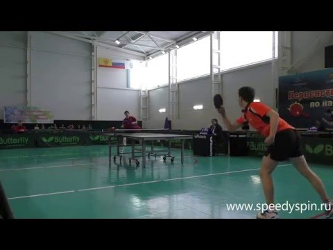 Russian Junior Table Tennis Championship 2016.Mens Finale.Ivonin-Tutrumov. FHD.