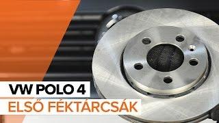 VW POLO első és hátsó Fékbetét készlet beszerelése: videó útmutató