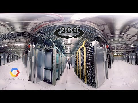 Google Data Center 360° Tour