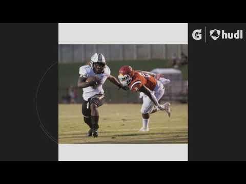 "Laderrius Ligon 2021 Talladega High school Senior(Athlete) 6'1"" /230 Lbs /4.57 40 yrd dash"