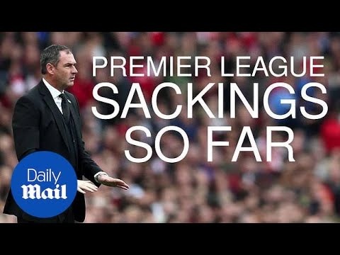 Premier League sackings: Who's gone so far this season? - Daily Mail