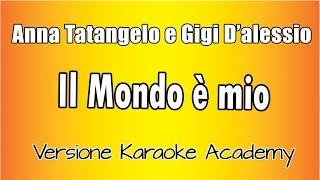 Gigi D'Alessio  e Anna Tatangelo -  Il Mondo è Mio (Versione Karaoke Academy Italia) screenshot 1