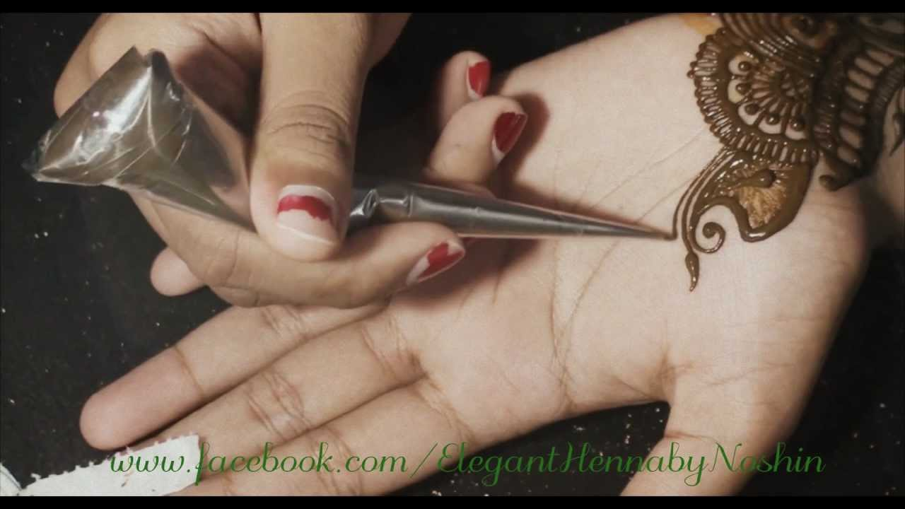 1 Henna  Mehndi Design By Elegant Henna  YouTube