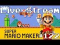 Super Mario Maker - Live Stream #122 (100 Expert & Viewer Levels. Queue Closed)