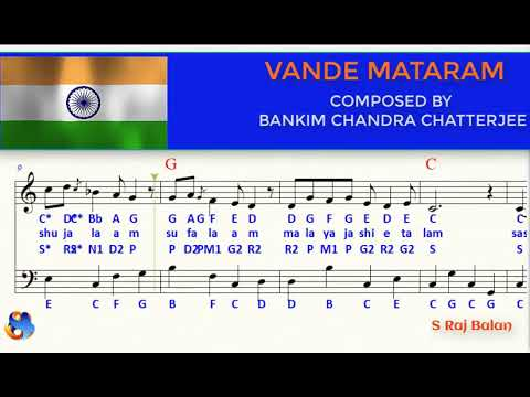 Vande Mataram Piano Notes In Western And Indian Formats Youtube Piano notes / sheet music for bollywood hindi songs. vande mataram piano notes in western and indian formats