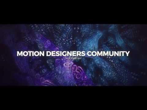 Événement à Paris Motion Designers Community ! Trailer