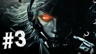 Metal Gear Rising Revengeance Gameplay Walkthrough Part 3 - Bladewolf - Mission 2