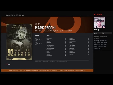 NHL 18 HUT is bring a truck load of new legends! New Primetime Sets!