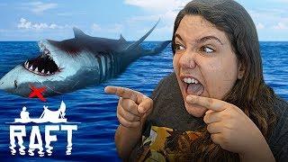 SOLEI O TUBARÃO!! - Raft
