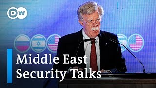 US, Israel and Russia meet for security talks on Iran & Middle East | DW News
