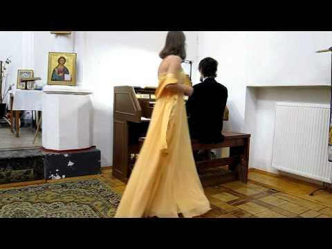 Фрагмент концерта органной музыки