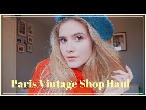 Paris Vintage Shopping Haul!