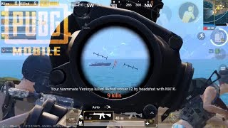 One of the most satisfying squad wipes | PUBG Mobile