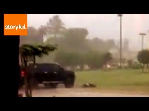 Tornado in West Monroe, Louisiana