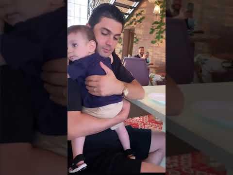 Мигран Царукян с сыном / Mihran Tsarukyan
