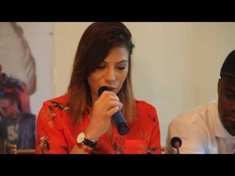 Zaho parle de son concert de Conakry le 14 Janvier 2018