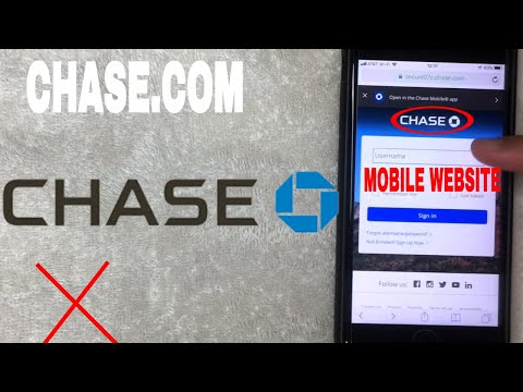 ✅  How To Register Log In Find Password Account Chase Mobile Website 🔴