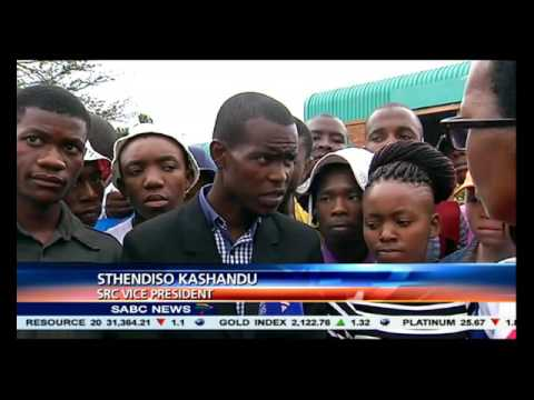 The situation remains tense at the Soshanguve TUT campus