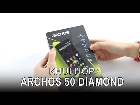 HoangHaMobile Mở hộp và đánh giá nhanh Archos 50 Diamond