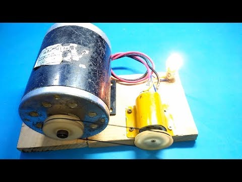 How To Make Free Energy Generator from DC Motor 100% Real New Ideas New Technology 2019