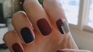 데싱디바 손톱 네일