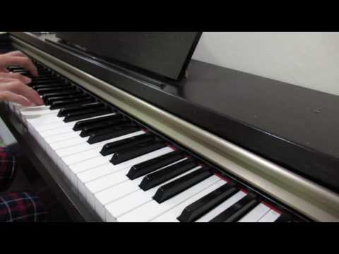 I'am Here Because Of You're Grace - Piano cover