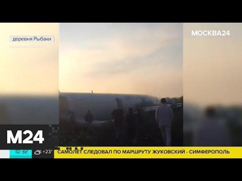 МЧС открыло горячую линию после аварийной посадки Airbus А321 - Москва 24