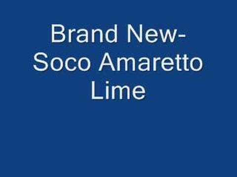 Brand New-Soco Amaretto Lime