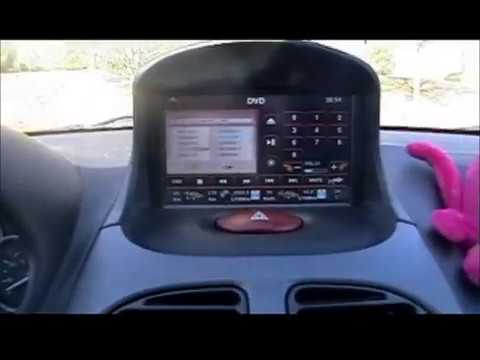 review radio dvd para peugeot 206 youtube. Black Bedroom Furniture Sets. Home Design Ideas