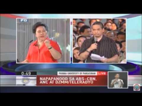 FAST TALK: Miriam Defensor Santiago