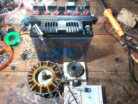 Making Brushless DC Motor Step By Step (handmade)