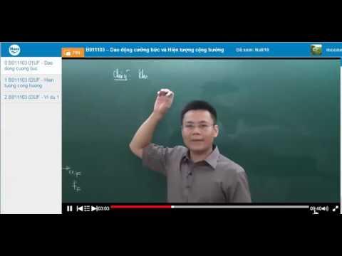 72 Dao dong cuong buc va Hien tuong cong huong